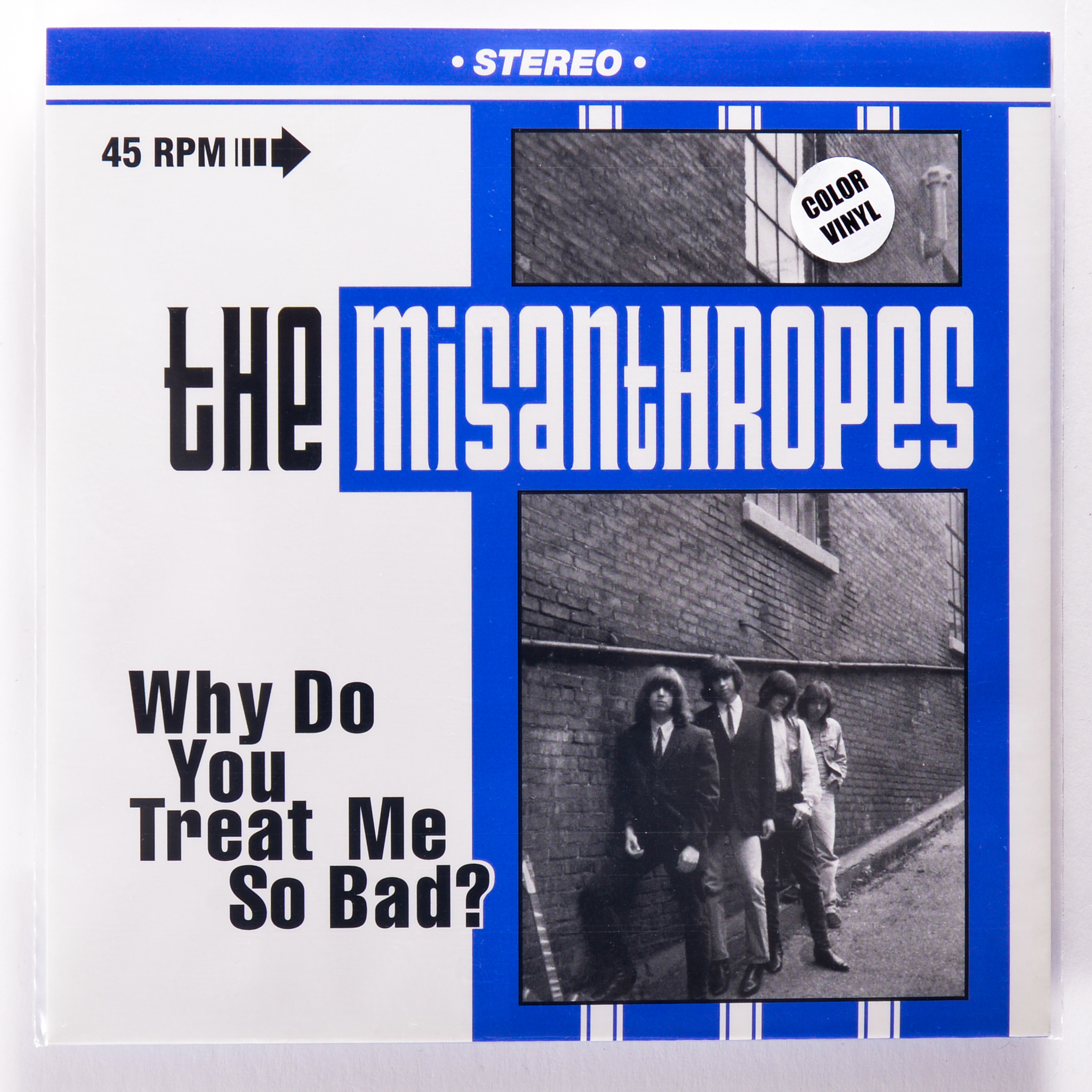 MISANTHROPES - WHY DO YOU TREAT ME SO BAD? / WAITING FOR