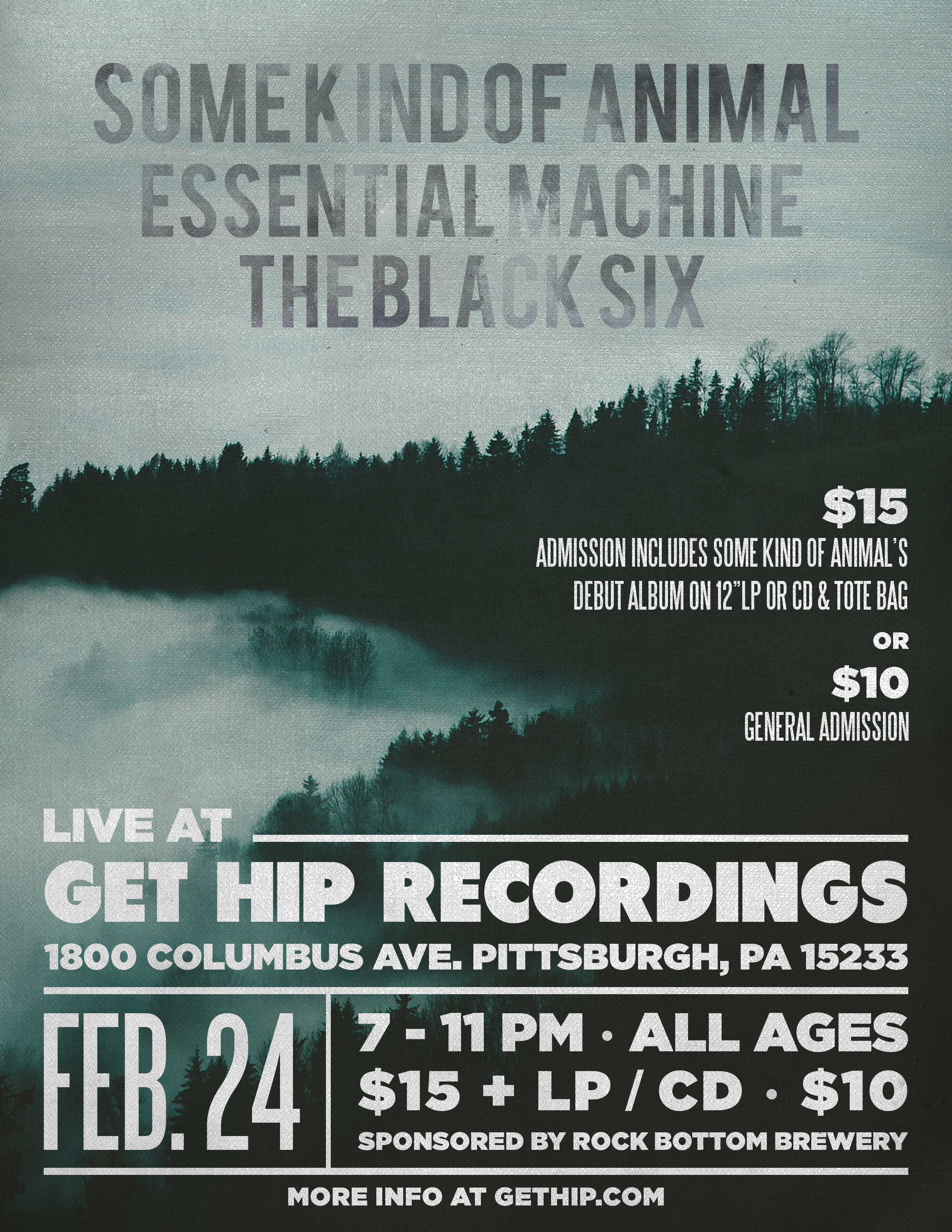 live at get hip recordings some kind of animal feb 24 get hip